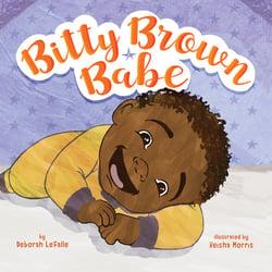 bitty brown babe flat