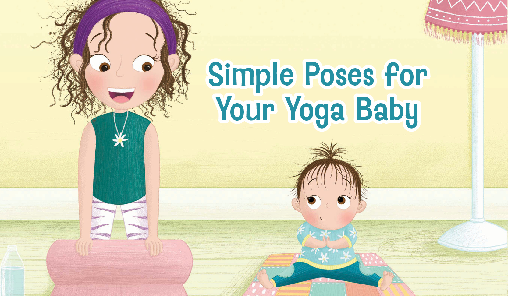simple poses for your yoga baby